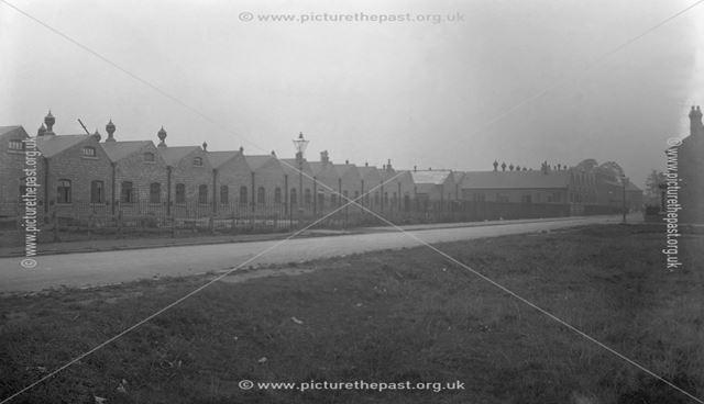 Rolls-Royce Ltd factory, Nightingale Road, Osmaston, Derby, c 1911