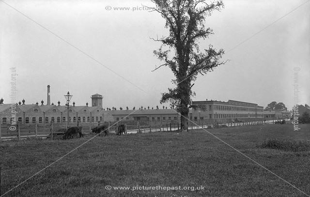 Rolls-Royce Ltd factory, Nightingale Road, Osmaston, Derby, c 1913