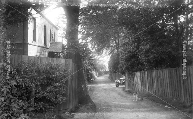 Penny Long Lane, Darley Abbey, Derby, 1920s ?