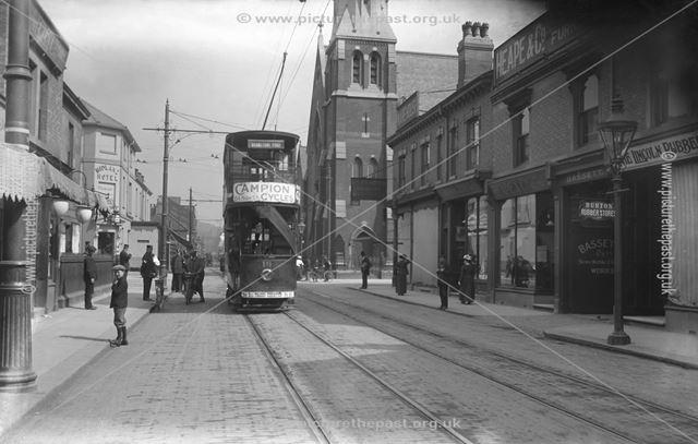 Station Street, Burton upon Trent, Staffordshire, c 1909 ?