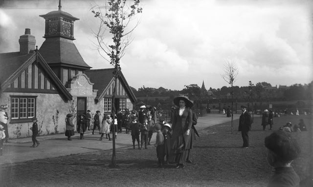 Normanton Recreation Ground, Derby, c 1910