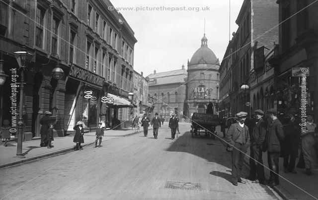 Albert Street, Derby, c 1912