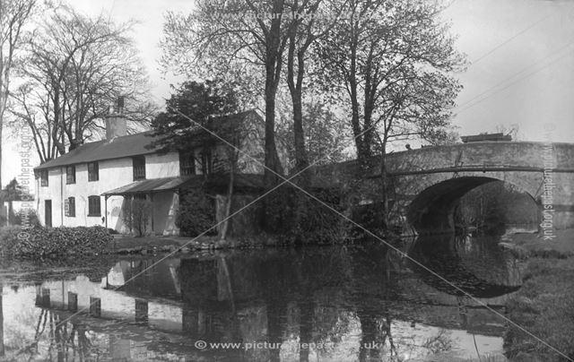 Derby Canal, Breaston, c 1931