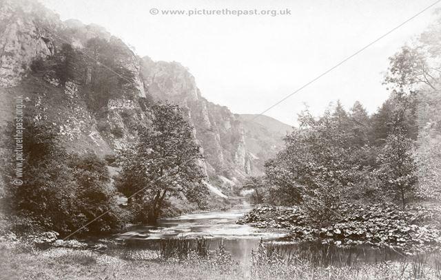 Tissington Spires, Dovedale, c 1880s