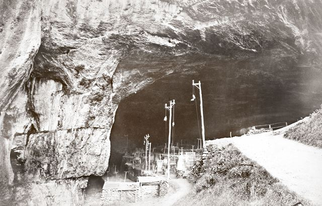 Peak Cavern, Castleton, c 1880s