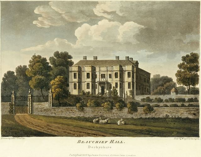 Beauchief Hall, Beauchief Drive, Beauchief, near Sheffield, c 1807