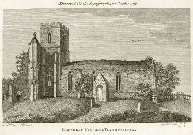 St George and St Mary's Parish Church, Church Street, Church Gresley, Swadlincote, 1789