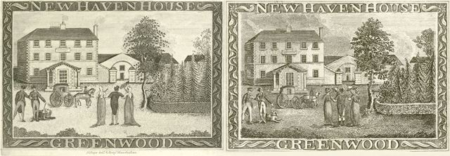 New Haven House, Newhaven, c 1795-1800s
