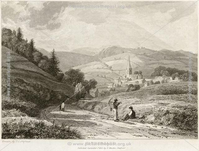 View of Hathersage, 1823