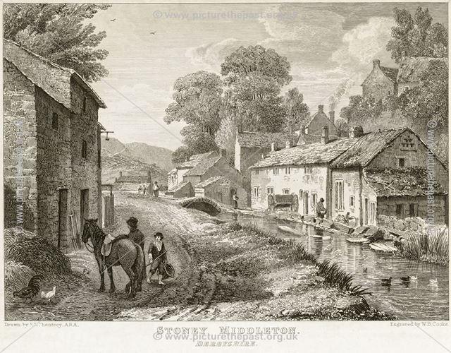 Village Life, The Dale, Stoney Middleton, 1819