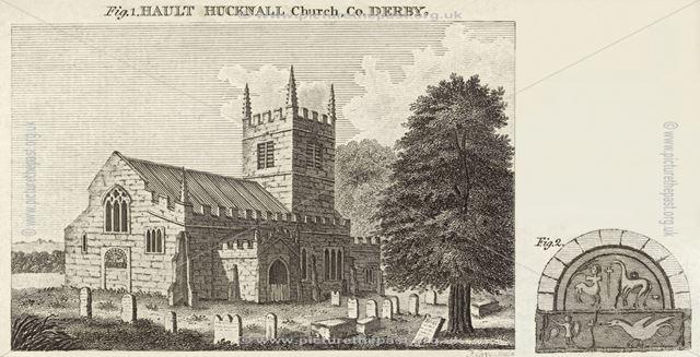 St John the Baptist Church, Ault Hucknall Lane, Ault Hucknall, early 1800s?