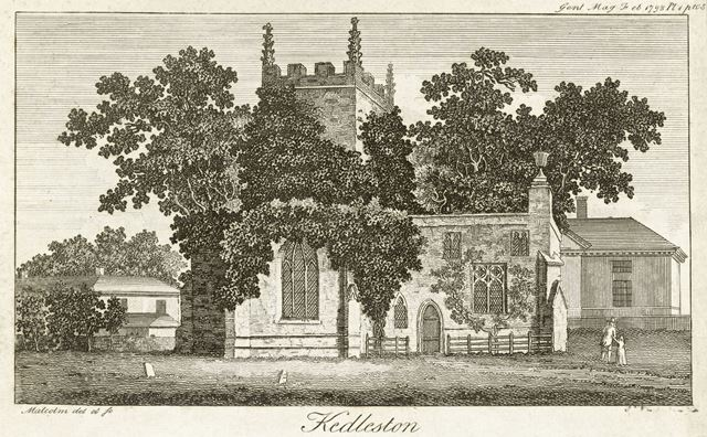 All Saints' Church at Kedleston Hall, Kedleston, Quarndon, 1793