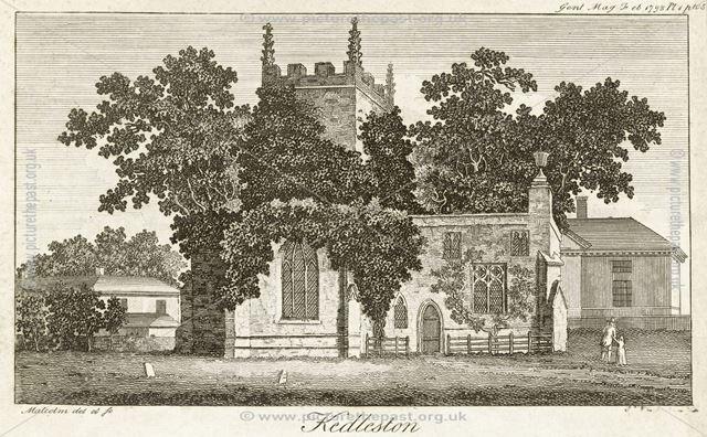All Saints' Church at Kedleston Hall, Kedleston, Quarndon, 1793