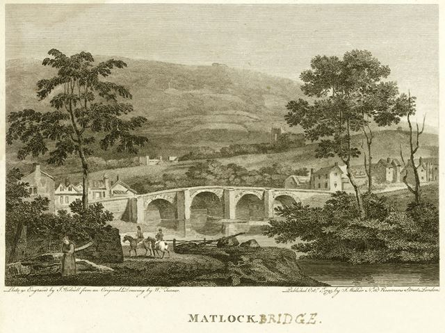 Matlock Bridge, A6, Matlock, 1795