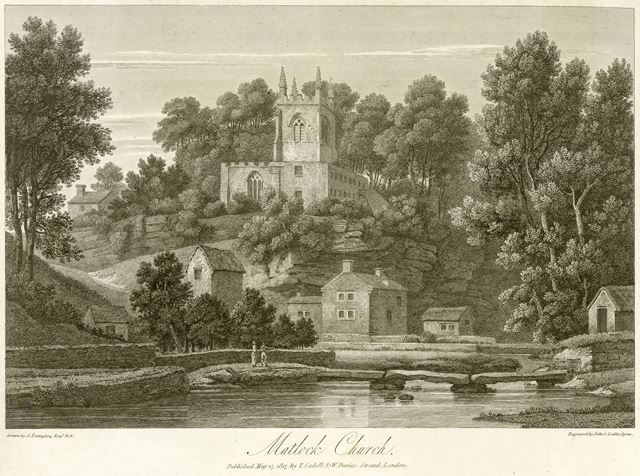 St Giles Parish Church, Church Street, Matlock, 1817