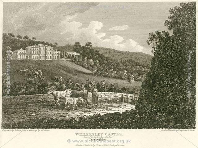 Willersley Castle, off Mill Road, Cromford, Matlock Dale, 1803