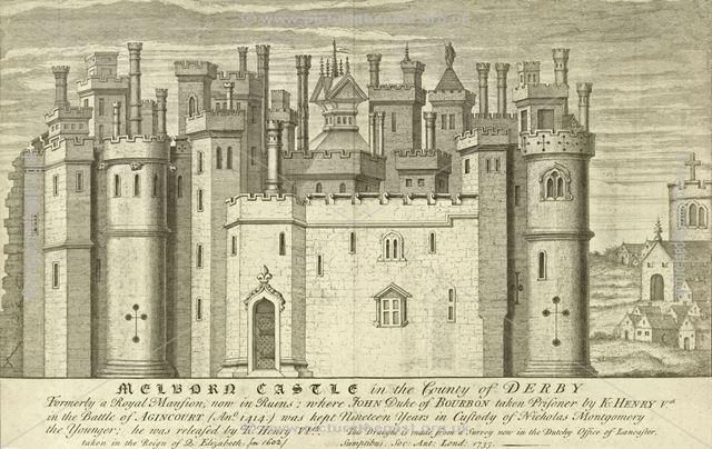 Melborne Castle, Castle Street, Melbourne, 1733