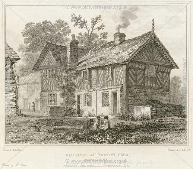 Old Hall, Norton Lees Lane, Norton Lees, near Sheffield, 1823