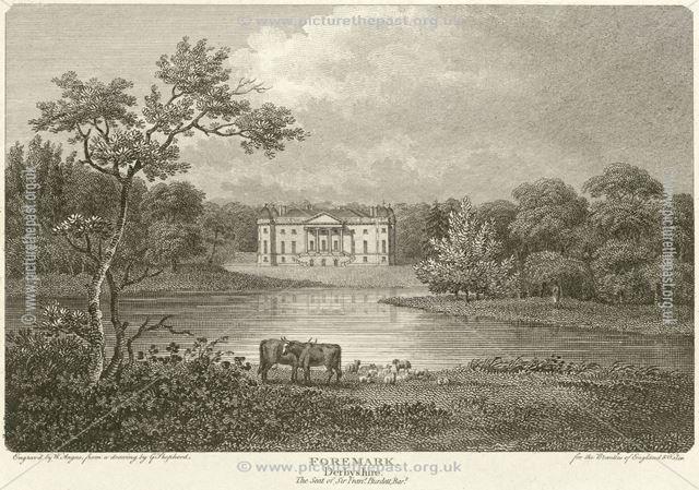 Foremark Hall, Foremark, Repton, 1804