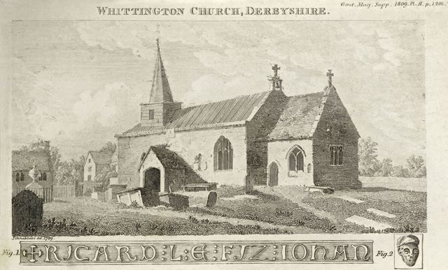 St Bartholomew's Church, Church Lane, Old Whittington, Chesterfield, 1789