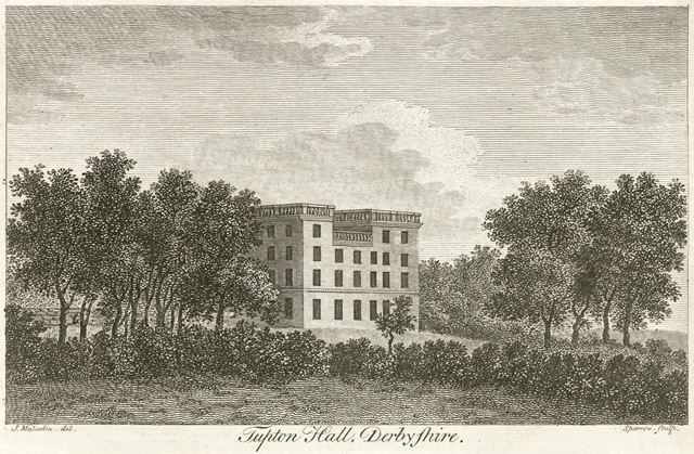 Tupton Hall, Tupton, c 1800