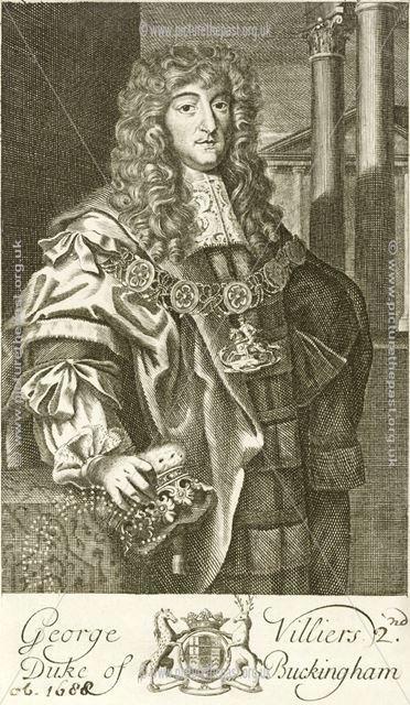 George Villiers, 2nd Duke of Buckingham, c 17th century