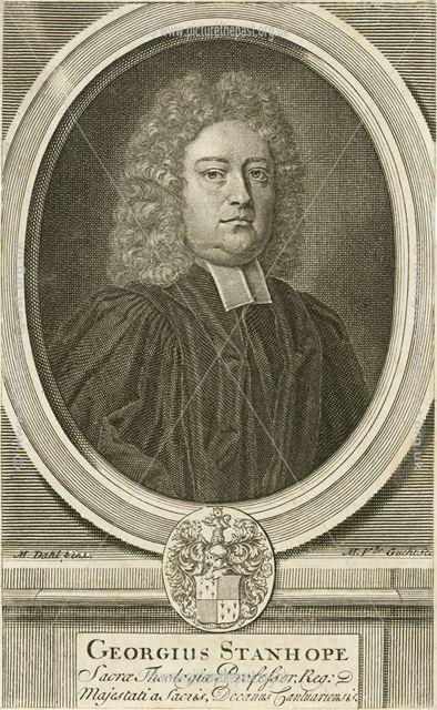 Georgius (George) Stanhope, Hartshorne, c 1720s