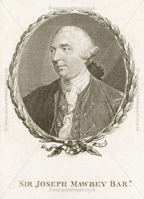 Sir Joseph Mawbey, Bart., Ravenstone, Leicestershire, c 1760s?