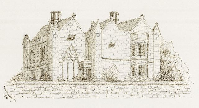 Lomberdale Hall, Middleton by Youlgreave, 1848
