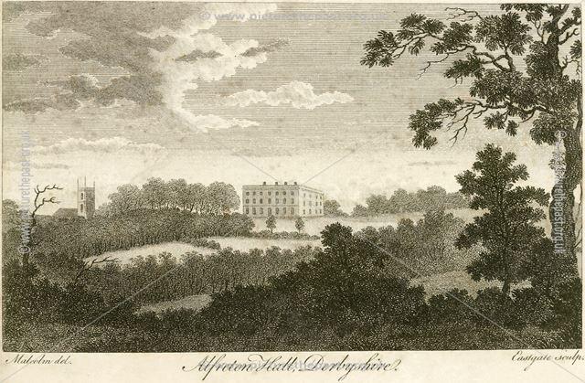 Alfreton Hall, Church Street, Alfreton, c 1800?