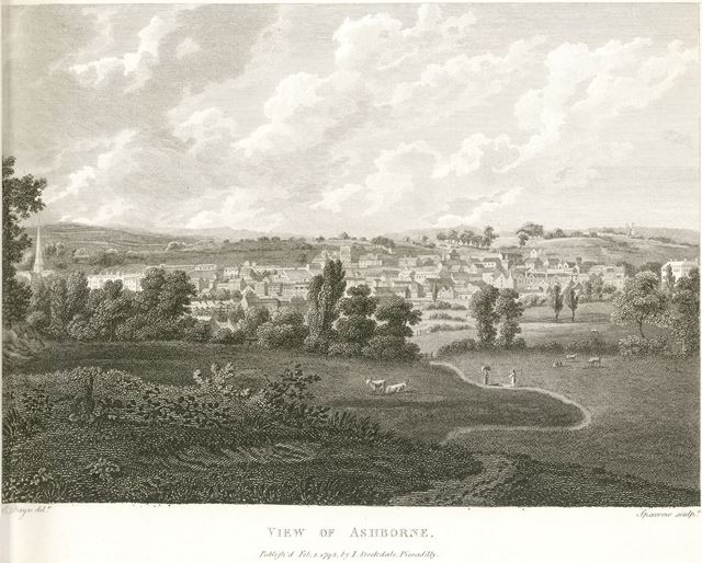 General View, Ashbourne, 1795