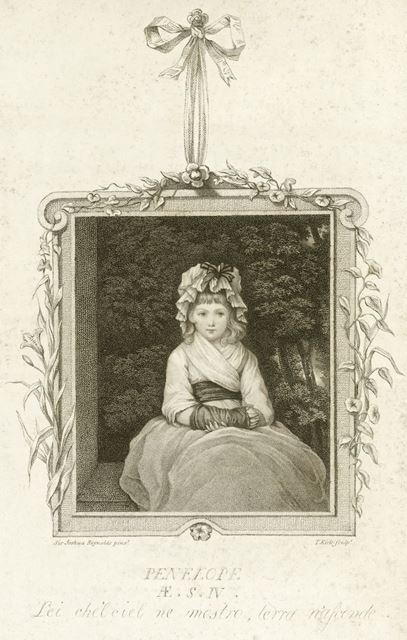 Miss Penelope Boothby, Ashbourne, 1788