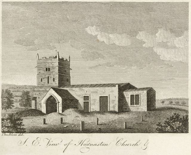 St Bartholomew's Church, Stonepit Lane, Hognaston, c 1800?