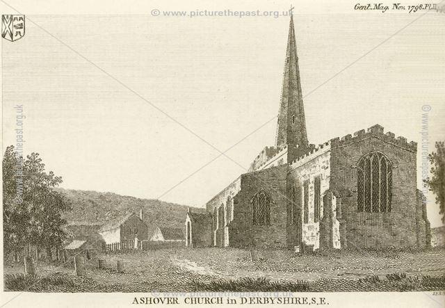 All Saint's Church, Church Street, Ashover, 1790