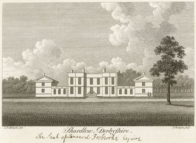 Shardlow Hall, London Road, Shardlow, c 1800?
