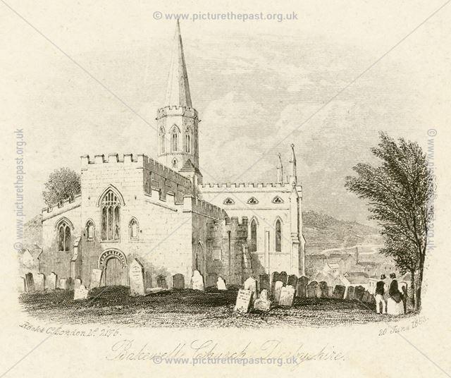 All Saint's Church, Bakewell, 1853