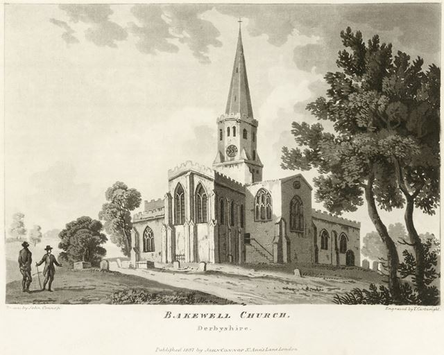 All Saint's Church, Bakewell, 1807