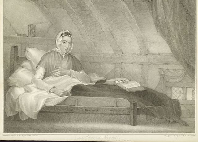 'Ann Moore, The Fasting Woman of Tutbury', 1812
