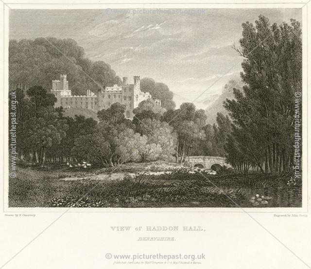 Haddon Hall, Haddon Road (A6), Bakewell, 1819