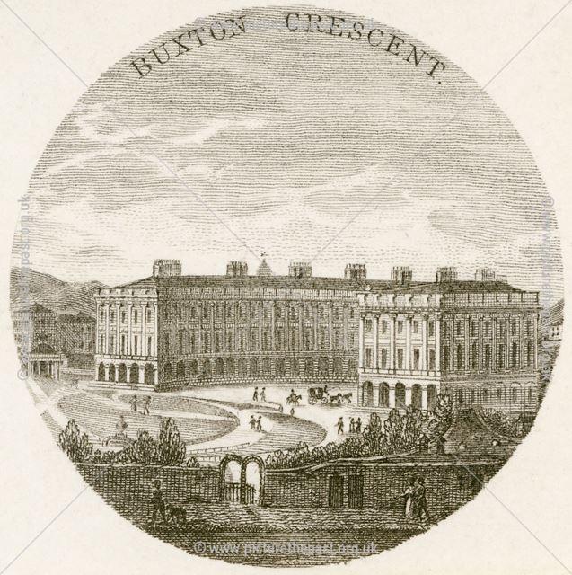 The Crescent, Buxton, c 1800?