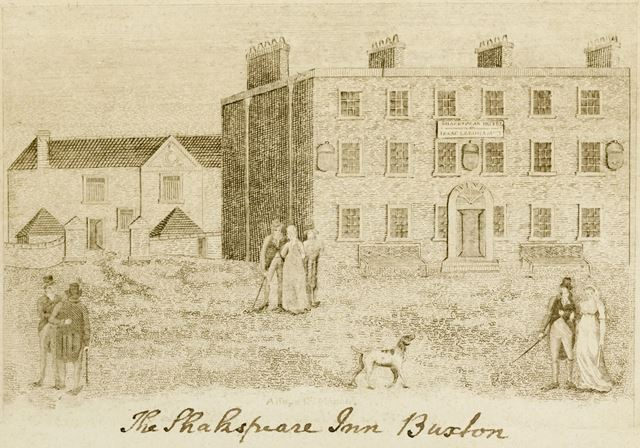 The Shakespeare Inn, Spring Gardens, Buxton, c 1800?