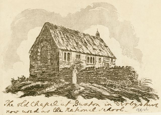 The old Chapel at Buxton, c 1800?