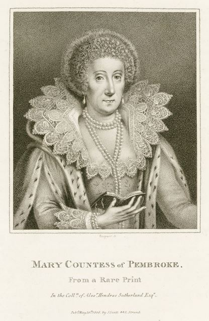 Mary Sidney Herbert, Countess of Pembroke (1561-1621), c 1800?