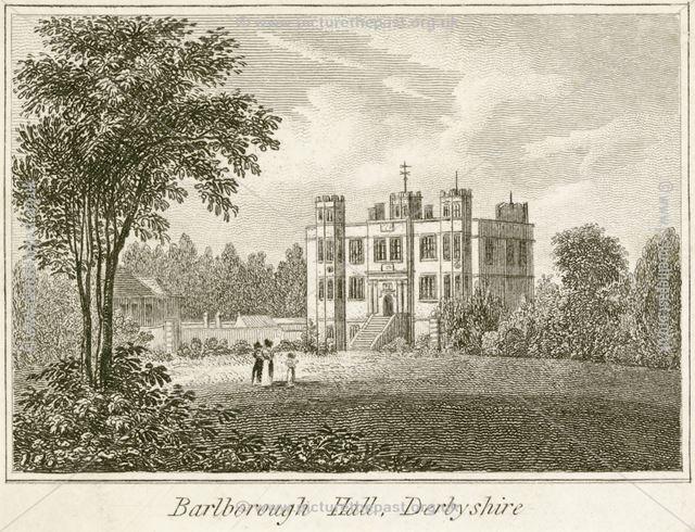 Balborough Hall, Ward Lane, Barlborough, Chesterfield, c 1800?
