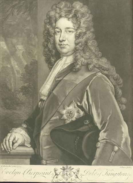 Evelyn Pierrepont, 2nd Duke of Kingston-upon-Hull (1711-1773), Holme Pierrepont, c 1750?
