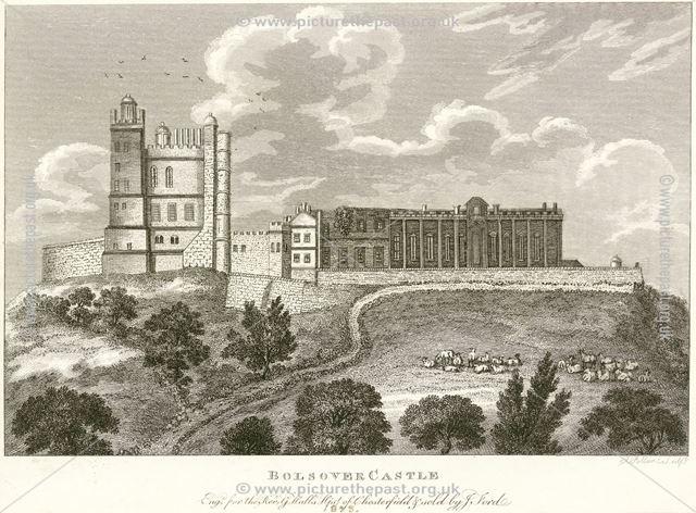 Bolsover Castle, Castle Lane, Bolsover, 1825