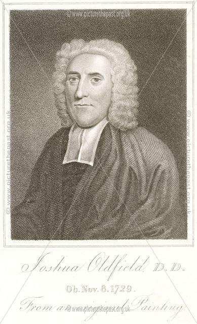 Joshua Oldfield, D D (1656-1729), Carsington, 1814