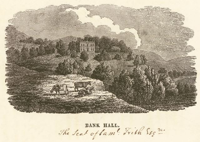 Bank Hall, Chapel en le Frith, c 1800?