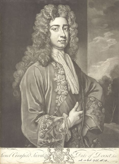 Lionel Sackville (1688-1765), 1st Duke of Dorset, 1731