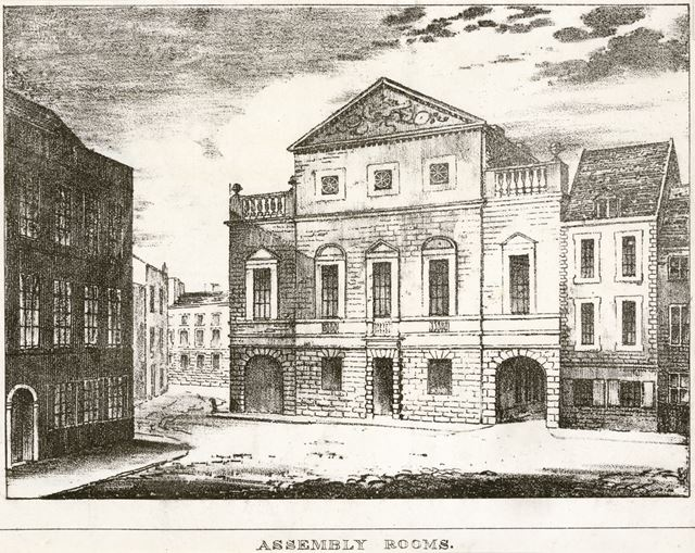 Assembly Rooms, Market Place, c 1750?